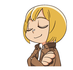 Attack on Titan Animated Stickers sticker #3190319