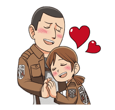 Attack on Titan Animated Stickers sticker #3190325