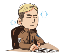 Attack on Titan Animated Stickers sticker #3190326