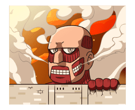 Attack on Titan Animated Stickers sticker #3190329