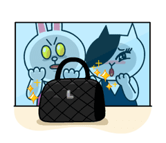 Cony and Jessica: Girls Night Out sticker #4824607