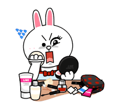 Cony and Jessica: Girls Night Out sticker #4824619