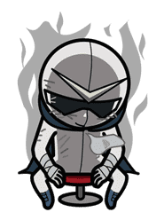 Super V Hero sticker #2752