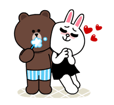 Brown & Cony's Lonely Hearts Date sticker #8683547