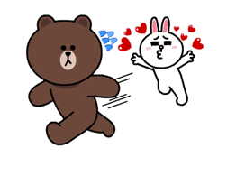 Brown & Cony's Lonely Hearts Date sticker #8683556