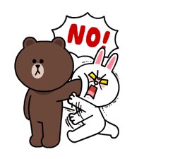 Brown & Cony's Lonely Hearts Date sticker #8683557
