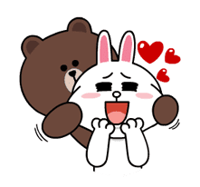 Brown & Cony's Lonely Hearts Date sticker #8683561