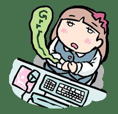 Munchy Girl Mogumi sticker #4483