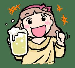 Munchy Girl Mogumi sticker #4489