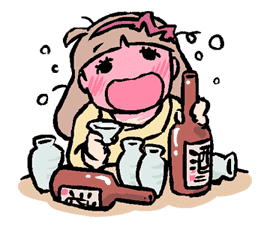 Munchy Girl Mogumi sticker #4492