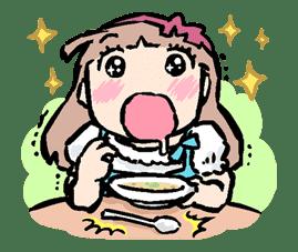 Munchy Girl Mogumi sticker #4497