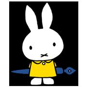 สติ๊กเกอร์ไลน์ กระต่ายมิฟฟี่