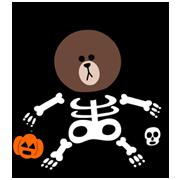 สติ๊กเกอร์ไลน์ LINE Halloween Special