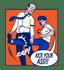 Mary & Jack sticker #5241