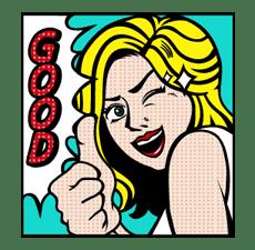 Mary & Jack sticker #5242