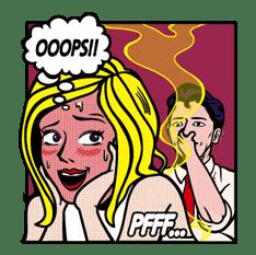 Mary & Jack sticker #5249