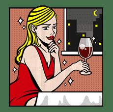 Mary & Jack sticker #5252