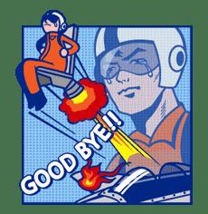 Mary & Jack sticker #5264