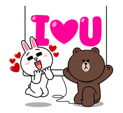 Brown & Cony's Big Love Stickers sticker #11470501