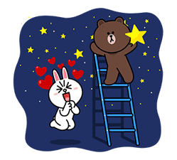 Brown & Cony's Big Love Stickers sticker #11470509