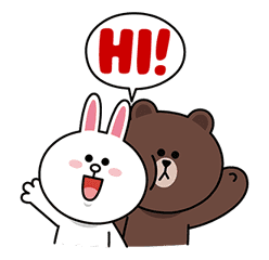 LINE Characters: Screen Hogs sticker #12095846