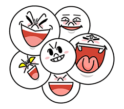 LINE Characters: Screen Hogs sticker #12095849
