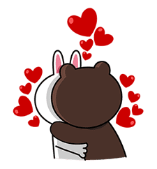 LINE Characters: Screen Hogs sticker #12095853