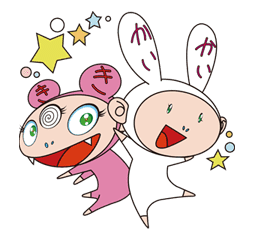Takashi Murakami sticker #11560