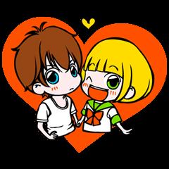 She has a crush on a liar © Kotomi Aoki /Shogakukan| elPortale | Sell LINE Sticker, Sell LINE Theme