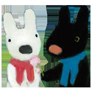 สติ๊กเกอร์ไลน์ Gaspard et Lisa