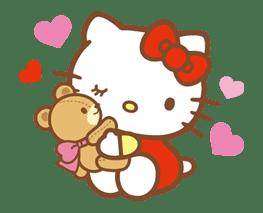 Hello Kitty (Happy Days ver.)  sticker #11905