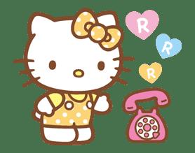 Hello Kitty (Happy Days ver.)  sticker #11906