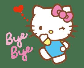 Hello Kitty (Happy Days ver.)  sticker #11909