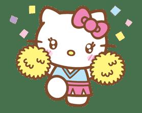 Hello Kitty (Happy Days ver.)  sticker #11912