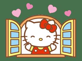 Hello Kitty (Happy Days ver.)  sticker #11913