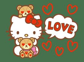 Hello Kitty (Happy Days ver.)  sticker #11915