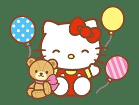 Hello Kitty (Happy Days ver.)  sticker #11917