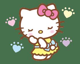 Hello Kitty (Happy Days ver.)  sticker #11918