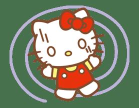 Hello Kitty (Happy Days ver.)  sticker #11919