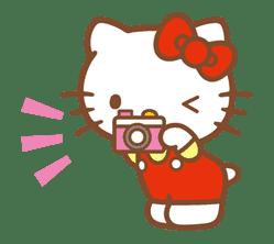 Hello Kitty (Happy Days ver.)  sticker #11920