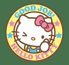 Hello Kitty (Happy Days ver.)  sticker #11921