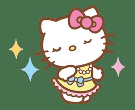 Hello Kitty (Happy Days ver.)  sticker #11922