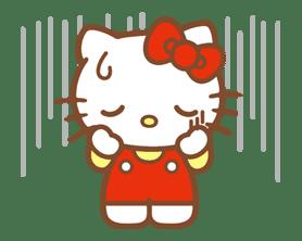 Hello Kitty (Happy Days ver.)  sticker #11923
