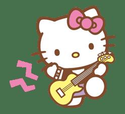Hello Kitty (Happy Days ver.)  sticker #11925