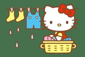Hello Kitty (Happy Days ver.)  sticker #11926