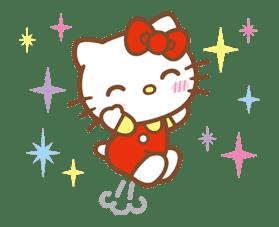 Hello Kitty (Happy Days ver.)  sticker #11927