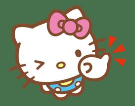 Hello Kitty (Happy Days ver.)  sticker #11930