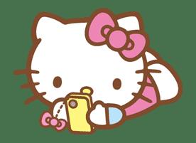Hello Kitty (Happy Days ver.)  sticker #11932