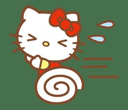 Hello Kitty (Happy Days ver.)  sticker #11934