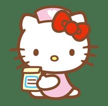 Hello Kitty (Happy Days ver.)  sticker #11935
